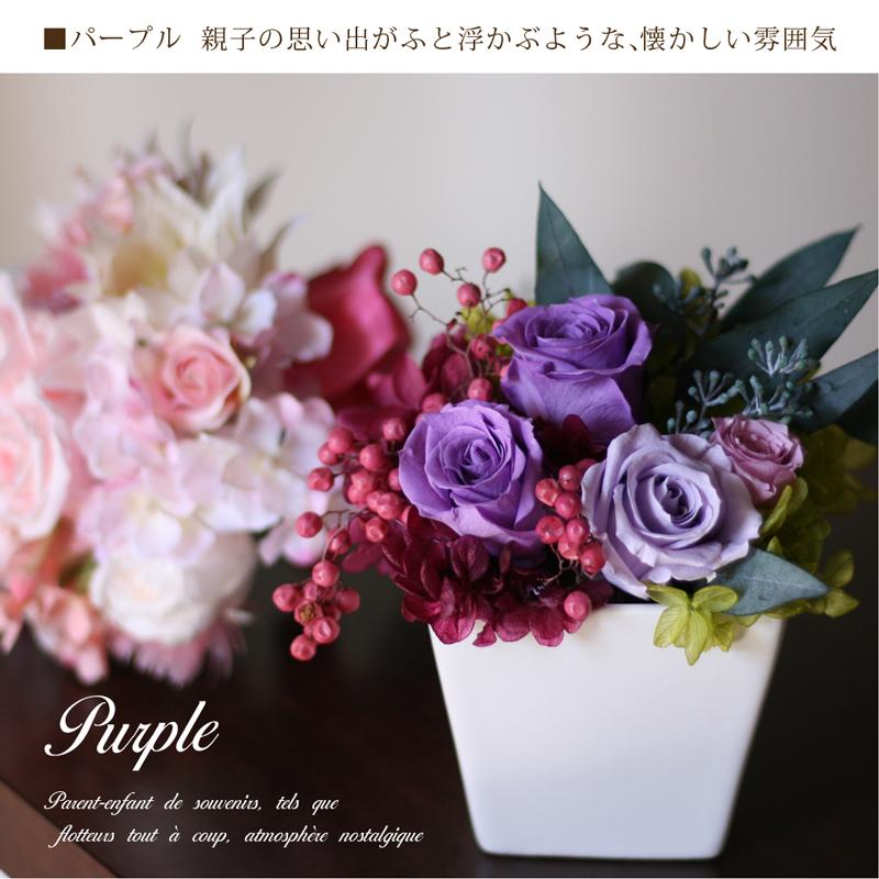 品のあるパープルの薔薇