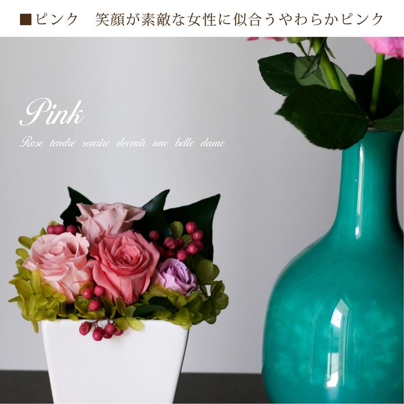 ピンクの濃淡が美しいローズ